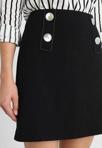Esprit Collection - SKIRT - Minikjol - black - 4