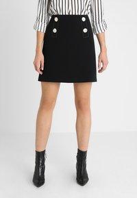 Esprit Collection - SKIRT - Minikjol - black - 0