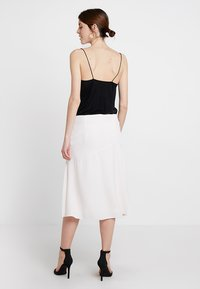 Esprit Collection - BONDED DRAP - A-lijn rok - nude - 2