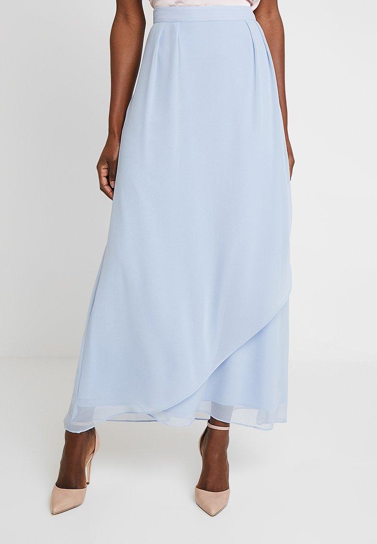 Esprit Collection - PLEATED  - A-Linien-Rock - pastel blue