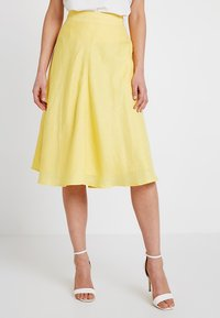 Esprit Collection - SOLID - A-Linien-Rock - bright yellow - 0