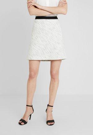 SKIRT - Spódnica trapezowa - off white