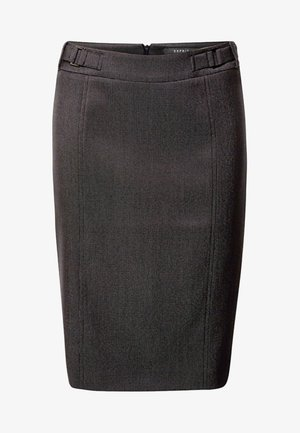 Pencil skirt - anthracite