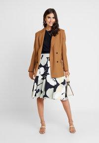 Esprit Collection - SHINY - A-line skirt - light aqua green - 1