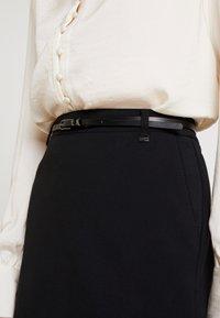 Esprit Collection - SKIRT - Minijupe - black - 4