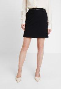 Esprit Collection - SKIRT - Minijupe - black - 0
