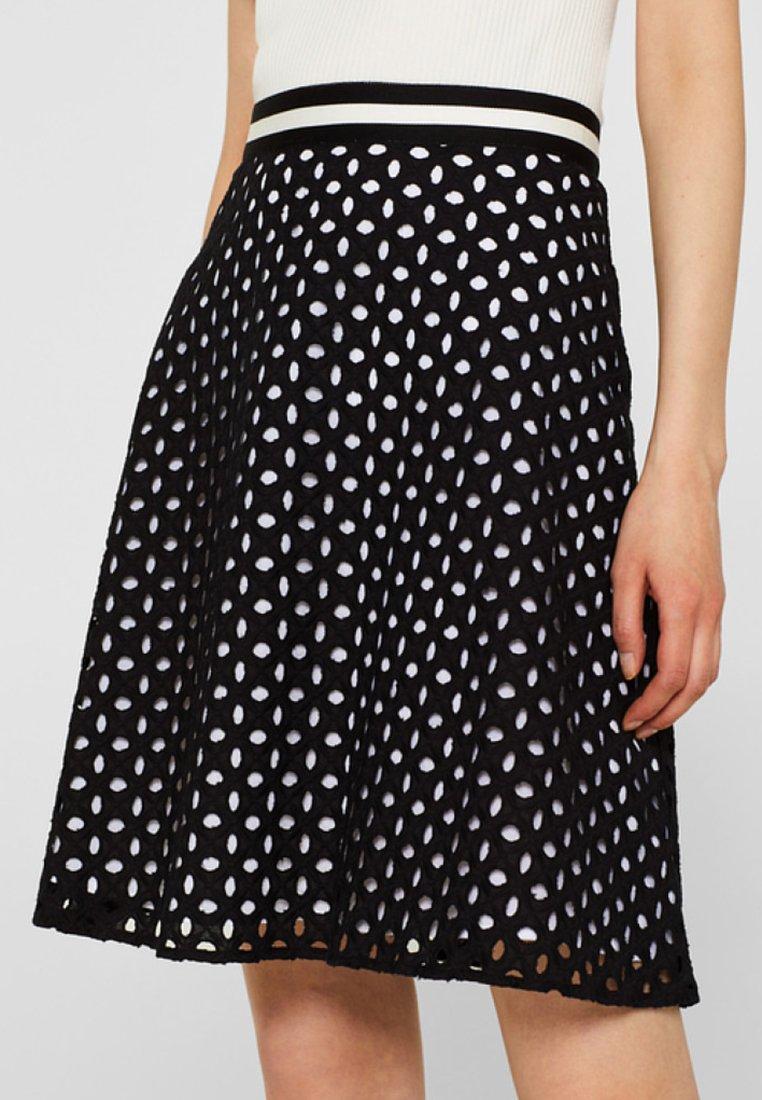 Esprit Collection - Áčková sukně - black