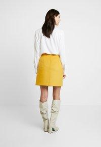 Esprit Collection - SKIRT - A-lijn rok - amber yellow - 2