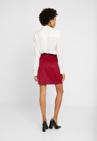 Esprit Collection - SKIRT - A-line skirt - dark red - 2