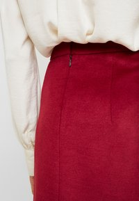 Esprit Collection - SKIRT - A-line skirt - dark red - 5