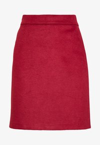Esprit Collection - SKIRT - A-line skirt - dark red - 4