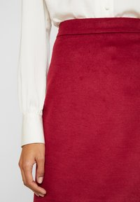 Esprit Collection - SKIRT - A-line skirt - dark red - 3