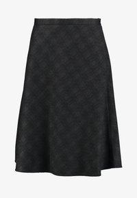 Esprit Collection - SUBTLE PRINTED - A-line skjørt - black - 3