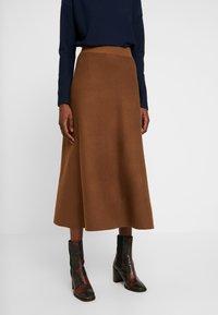 Esprit Collection - Áčková sukně - toffee - 0