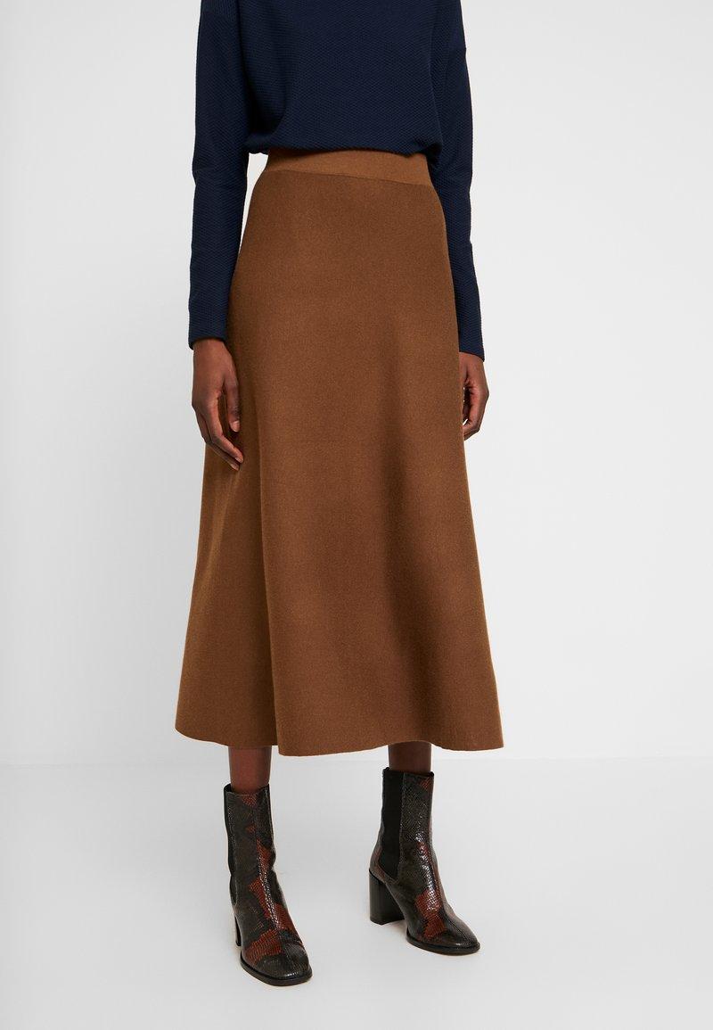 Esprit Collection - Áčková sukně - toffee