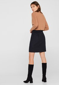 Esprit Collection - A-line skirt - anthracite - 2