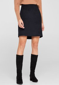 Esprit Collection - A-line skirt - anthracite - 0