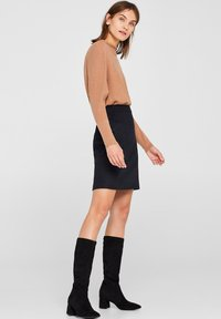 Esprit Collection - A-line skirt - anthracite - 3