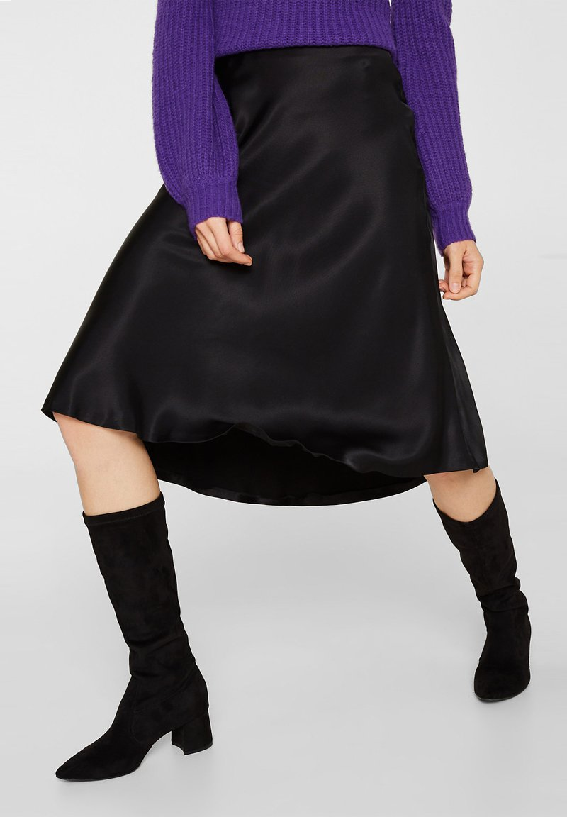 Esprit Collection - A-line skirt - black