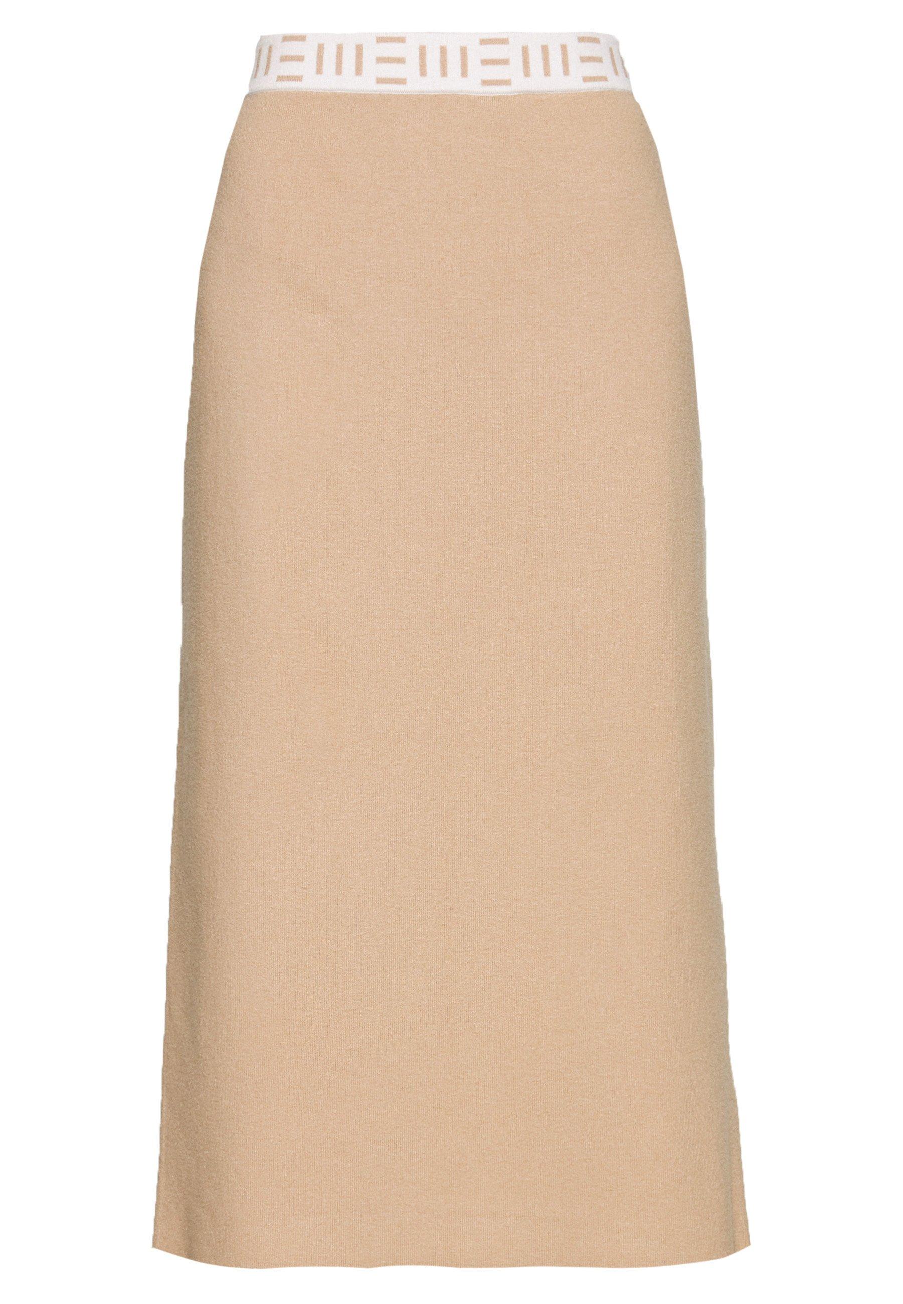 Esprit Collection PENCIL - Spódnica ołówkowa - light beige