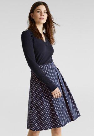 TUPFEN - A-line skirt - navy