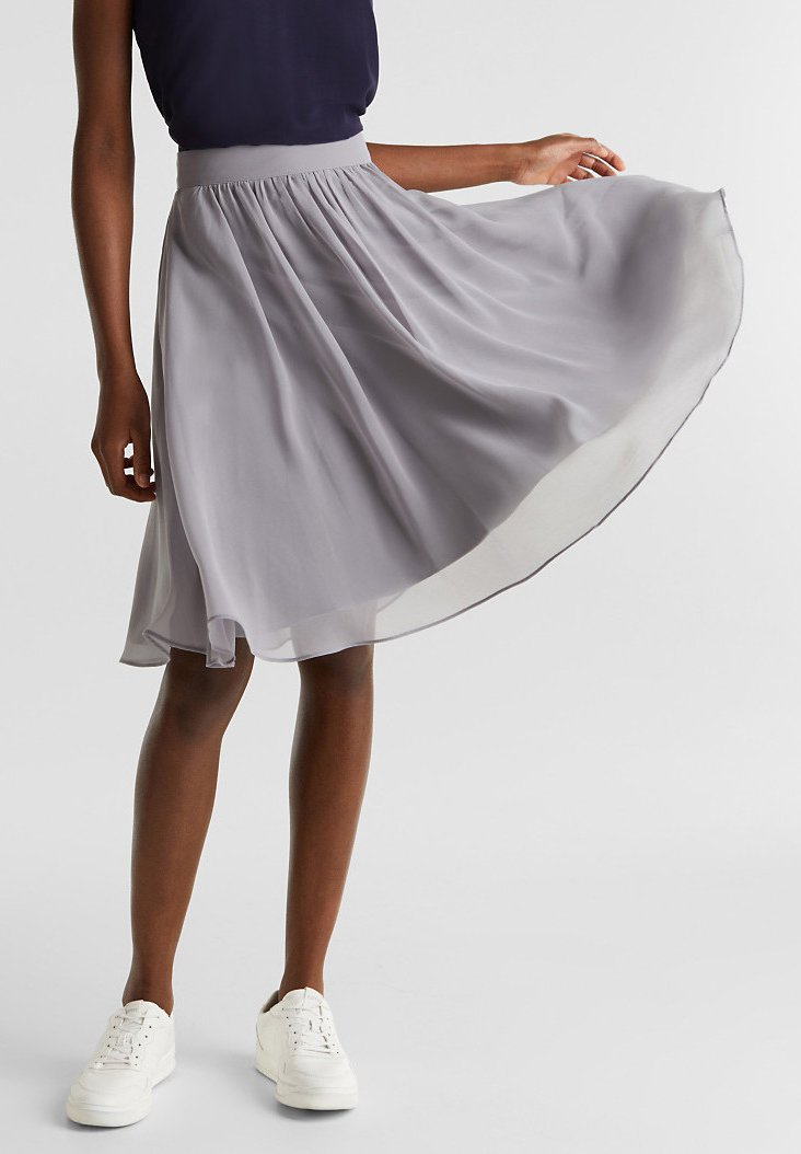 Esprit Collection - A-line skirt - grey