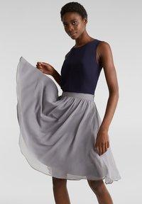 Esprit Collection - A-line skirt - grey - 3