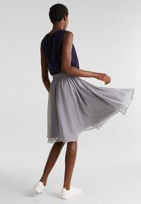 Esprit Collection - A-line skirt - grey - 2