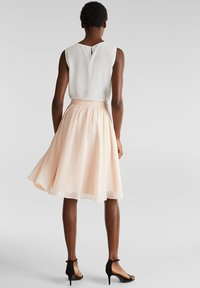 Esprit Collection - A-lijn rok - pastel pink