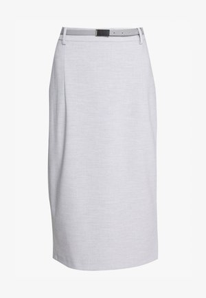 SKIRT - A-line skirt - light grey