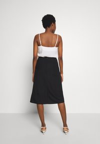 Esprit Collection - WRAP SKIRT - A-line skjørt - black - 2