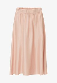 Esprit Collection - SATEEN MAX SKIRT - A-Linien-Rock - nude - 4