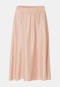 Esprit Collection - SATEEN MAX SKIRT - A-Linien-Rock - nude - 5