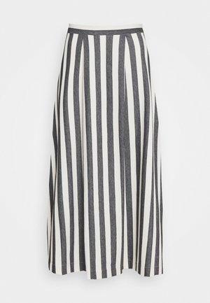 FLARED SKIRT - Spódnica trapezowa - black