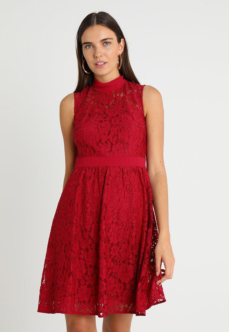 Esprit Collection - STELLA LACE - Cocktailkleid/festliches Kleid - cherry red
