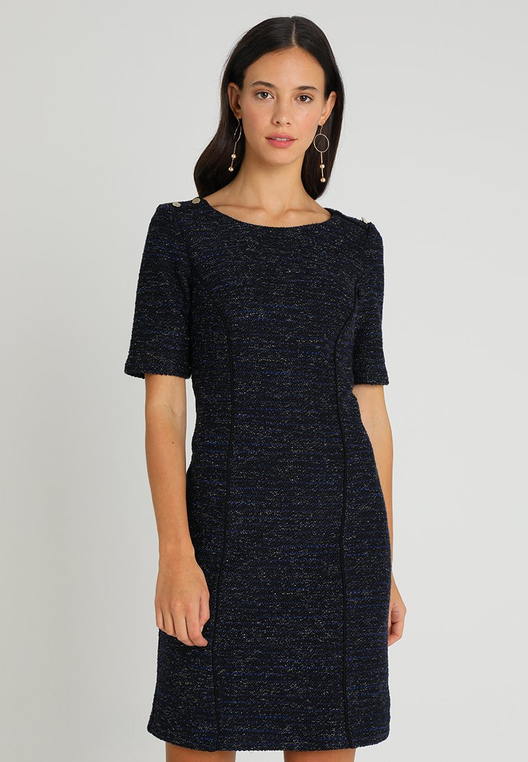 Esprit Collection - COATED DRESS - Etuikleid - black