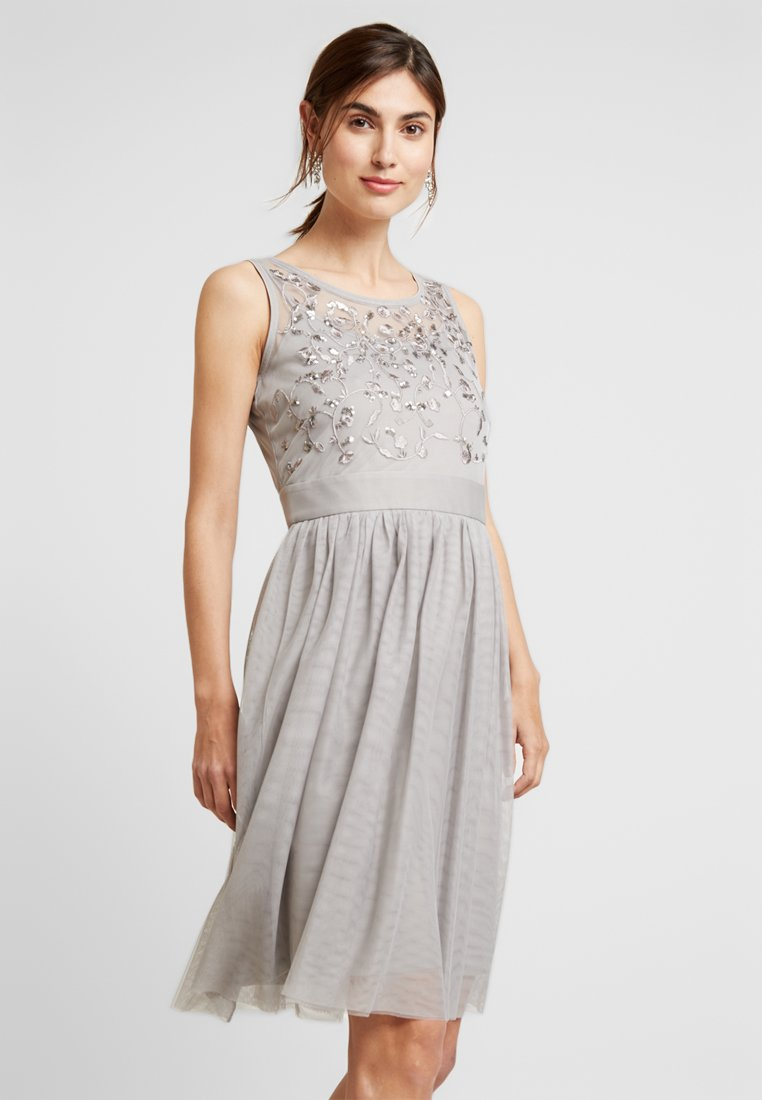 Esprit Collection - SOFT - Cocktail dress / Party dress - light grey