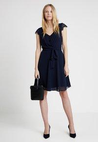 Esprit Collection - NEW FLUID - Koktejlové šaty/ šaty na párty - navy - 2