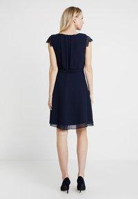 Esprit Collection - NEW FLUID - Koktejlové šaty/ šaty na párty - navy - 3