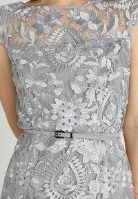 Esprit Collection - PAISLEY FLORAL - Sukienka koktajlowa - silver - 5