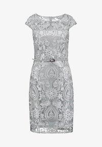 Esprit Collection - PAISLEY FLORAL - Sukienka koktajlowa - silver - 4