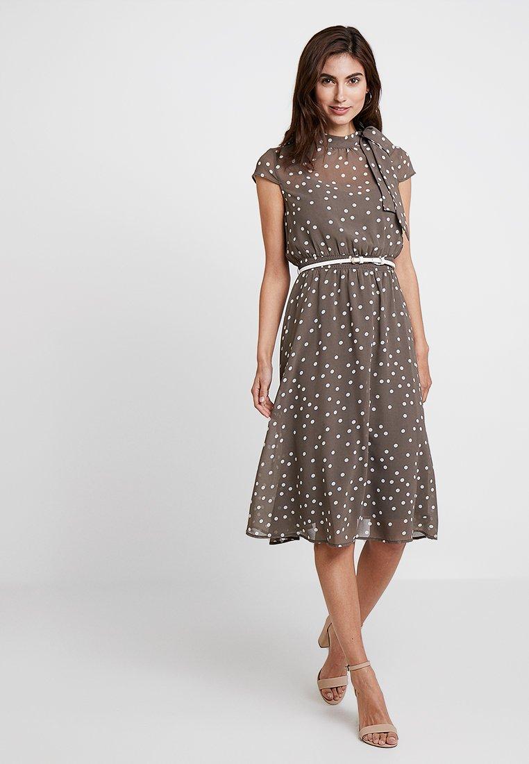 Esprit Collection Vestito estivo - marrone chiaro brown/grey