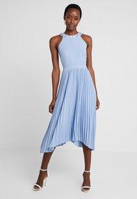 Esprit Collection - CDC DRAPE - Koktejlové šaty/ šaty na párty - pastel blue - 0