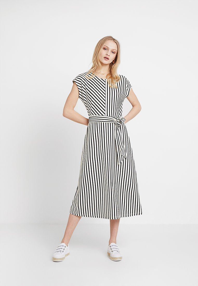 Esprit Collection - KNOT FRONT - Jersey dress - black