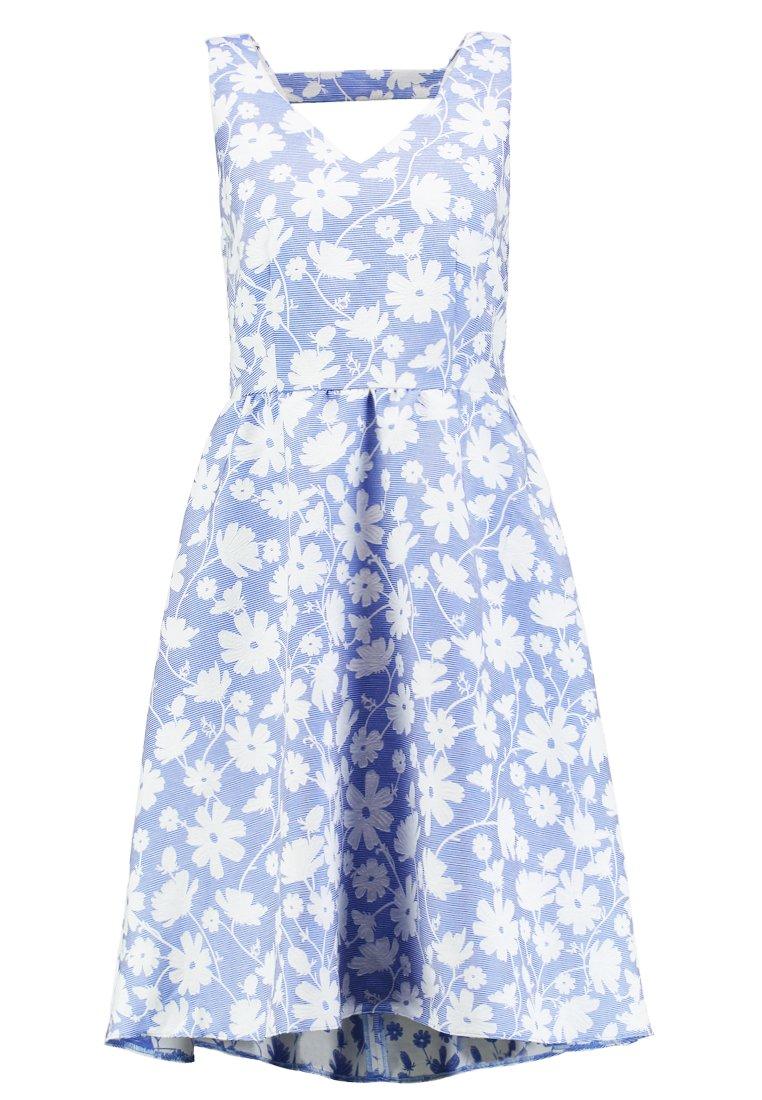 Esprit Collection Dress - Vestido De Cóctel Light Blue