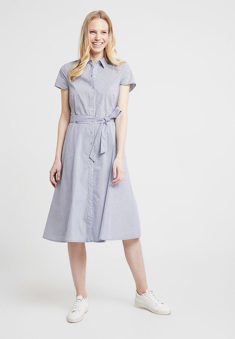 Esprit Collection - NEW FALL POPLIN - Blusenkleid - light blue