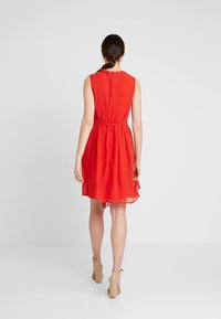 Esprit Collection - NEW FLUID - Vestido de cóctel - orange red - 2