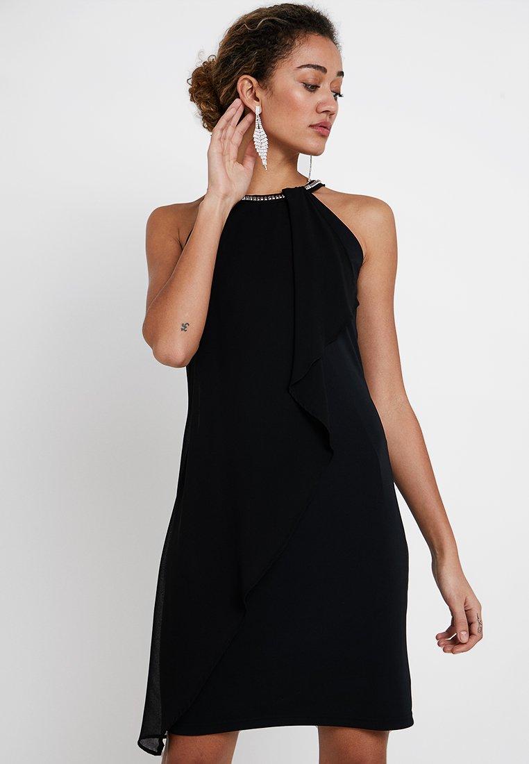 Esprit Collection - ASYMMETRIC - Cocktailkleid/festliches Kleid - black