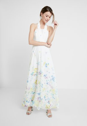 FLUENT - Vestito lungo - off white