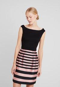 Esprit Collection - STRIPE DRESS - Kjole - black - 0